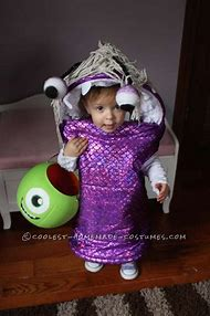 monsters inc boo halloween costume diy