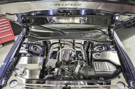dodge challenger engine accessories   american car craft