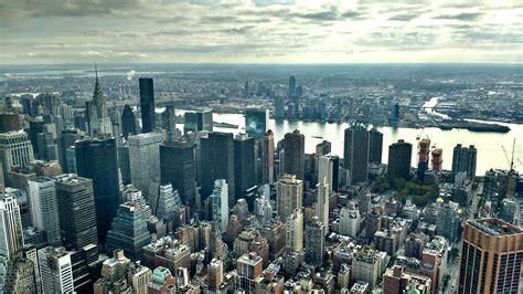 fotos gratis horizonte ver rascacielos nueva york
