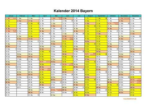 Sie können die vorlage dieses kalenders mit ihren freunden/familie usw. Kalender 2014 Bayern - KalenderVIP