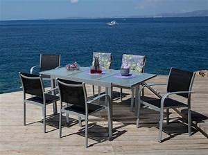 Otto Versand Gartenmöbel Set : 7tlg gartenm bel diningset lima ausziehtisch stapelsessel online kaufen otto ~ Indierocktalk.com Haus und Dekorationen
