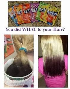 Kool Aid Hair Dye