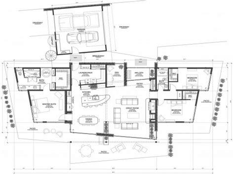 modern mountain home floor plans modern concrete floors