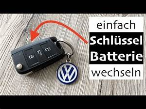 Batterie Golf 4 : vw golf 7 schl ssel batterie wechseln so einfach gehts ~ Carolinahurricanesstore.com Idées de Décoration