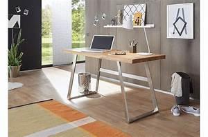 Bureau Bois Pas Cher : bureau bois massif moderne cbc meubles ~ Teatrodelosmanantiales.com Idées de Décoration