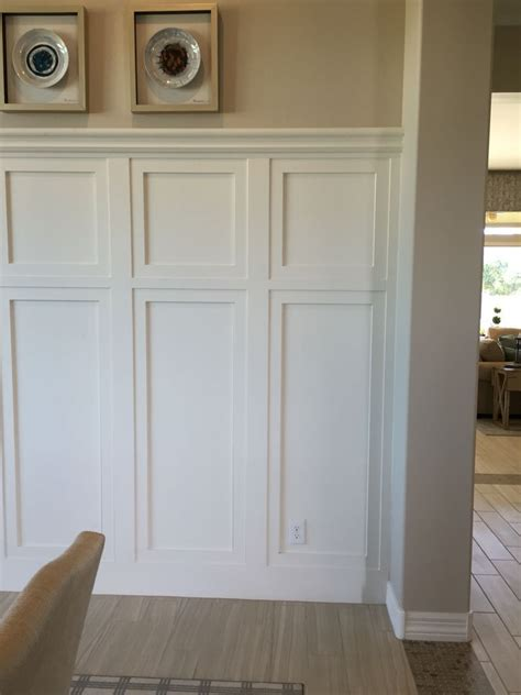 Panel Molding Wainscoting by Wainscoting Panels In 2019 Wainscoting Styles