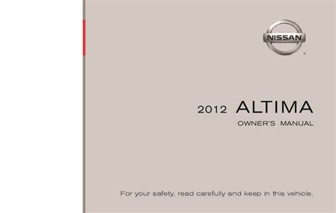 nissan altima owners manual  give   damn