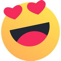 emoji reaction valentine emoticon heart  love icon