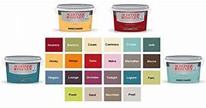 Schöner Wohnen Wandfarbe : sch ner wohnen wandfarbe matt 2 5 liter europaletten ~ Watch28wear.com Haus und Dekorationen