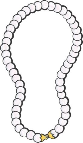 pearl necklace clipart black and white strand of pearls clipart clipart suggest