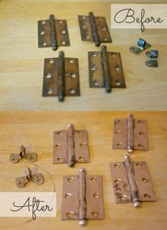 spray paint cabinet hinges spray paint hinges to transform them the impatient