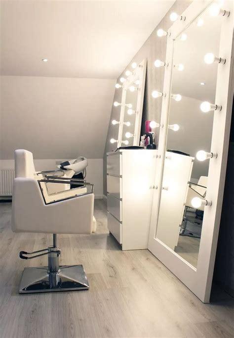 glamourous light mirror light led hair salon
