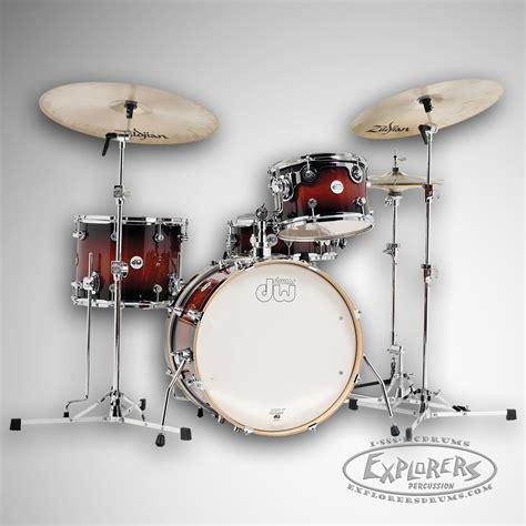dw design series dw design series frequent flyer jazz sized drum set in