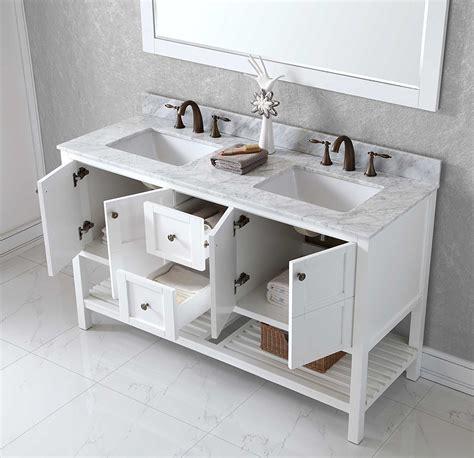 bathroom immaculate   double sink vanity