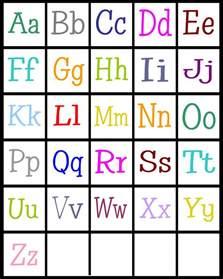 ABC Alphabet Letters Printable