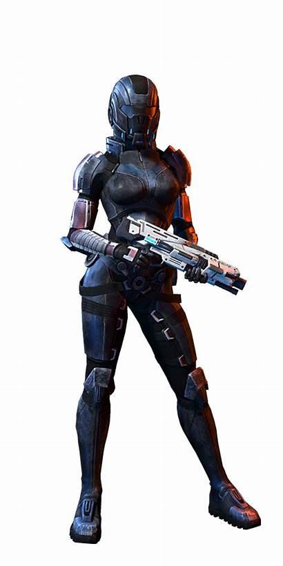 Infiltrator Menschlicher Human Female Mass Effect