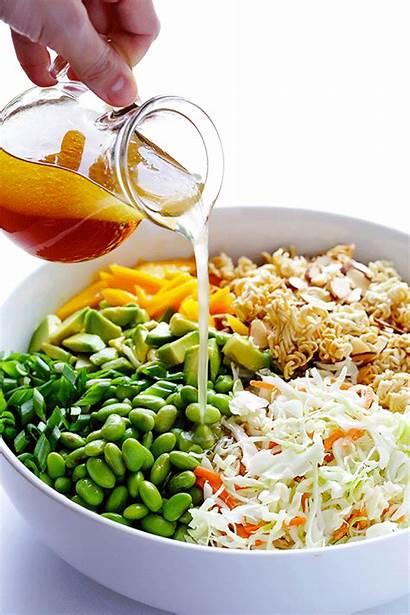 Salad Ramen Asian Crunchy Noodle Recipes Recipe