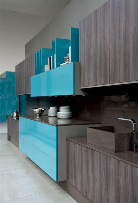 repeindre sa cuisine en gris awesome cuisine bleu turquoise pictures antoniogarcia