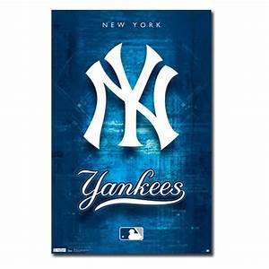 New York Yankees Logo 11 Wall Poster