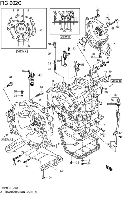 Suzuki Aerio 2003 Parts by At Transmission For 2002 2003 Suzuki Aerio Rb21s