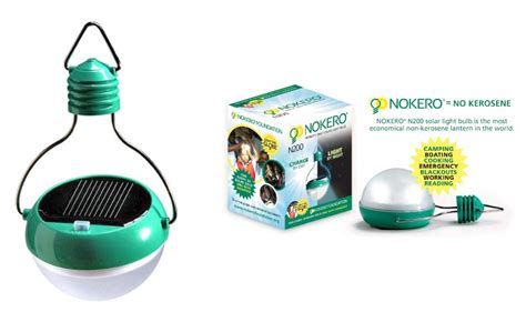 the nokero bulb is the world s only solar light bulb