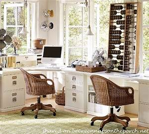 How to design an office with pottery barn bedford for Office furniture pottery barn