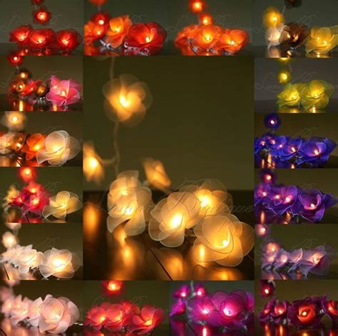 20 or 35 led flower in string lights