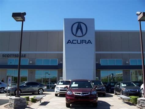 acura north scottsdale phoenix az 85054 car dealership