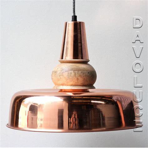 solid copper timber pendant lights australia davoluce
