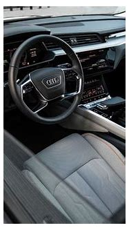 Audi shows off its electric SUV's screen-filled interior ...