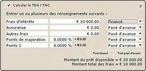 Calcul Crédit Auto : calcul teg ~ Medecine-chirurgie-esthetiques.com Avis de Voitures