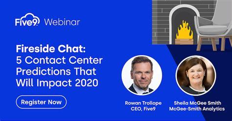 webinar  contact center predictions