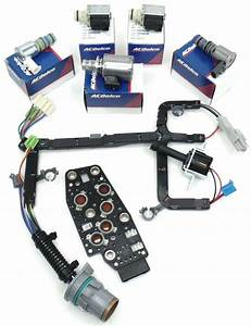 4l60e 4l65e 4l70e Transmission Solenoid Kit W  Harness 2006