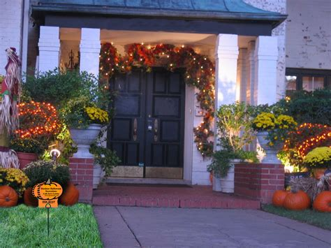 Outdoor Halloween Decorations And Lawn Care Marketing Idea
