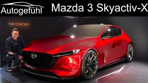 2019 Allnew Mazda 3 Preview With Skyactivx Dieselpetrol