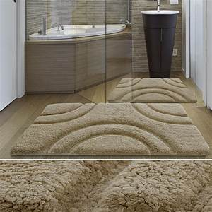 grand tapis salle de bain luxueux et bon marche With grand tapis de bain