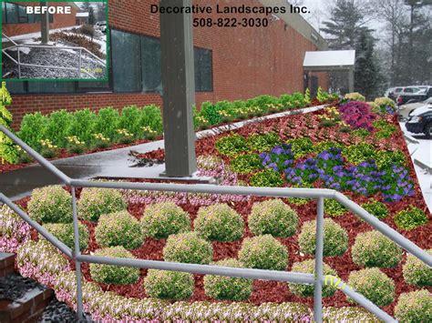 industrial landscaping ideas commercial landscape design madecorative landscapes inc