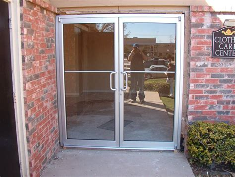 Door - Window : Ideas Of Business Glass Front Door-interior Design