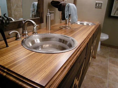 Plan de travail salle de bain: quelles sont les options