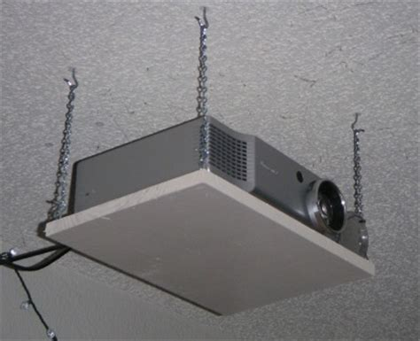 Drop Ceiling Projector Mount Diy by Ceiling Mounted Projector Shelf Winda 7 Furniture