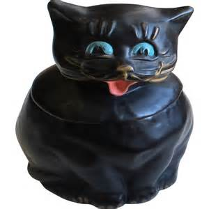 cat cookie jar vintage mccoy coalby black cat cookie jar sold on