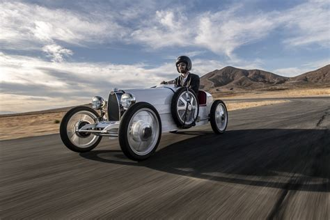 Bugatti introduced baby ii at the 2019 geneva international motor show as a 75% scale model of the type 35 racing car of the 1920s. Bugatti Baby II Arrives In The USA With An Adult Price Tag That Can Top $70,000! | Carscoops