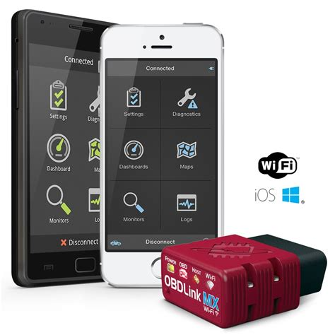 Scanning Tool by Obdlink Mx Wi Fi Obd Ii Scan Tool For Ios Android Windows