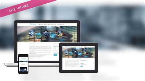 atixis site vitrine en responsive design