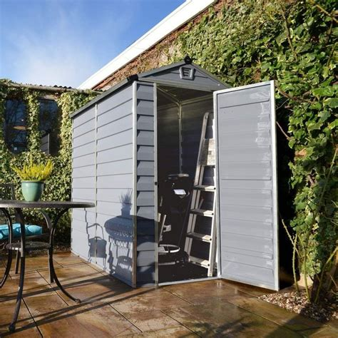 7 best palram plastic polycarbonate skylight garden sheds uk on garden houses