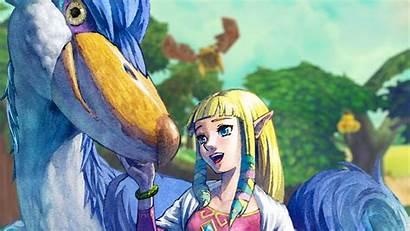 Zelda Skyward Sword Legend Princess Wallpapers Desktop
