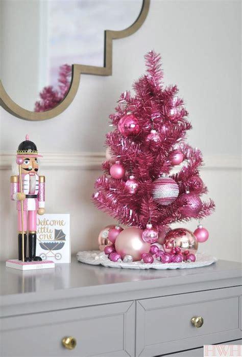 pink christmas decorating ideas   christmas