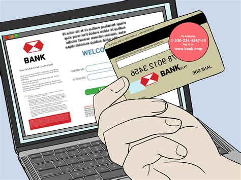 The website could be provided on the card in front or on a separate sheet of paper. How to Activate a Credit Card by Phone or Online   wikiHow