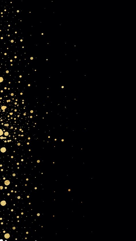 wallpaper iphone gold dots on black iphone wallpapers