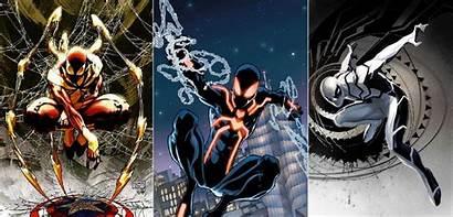 Spider Suit Iron Stealth Stark Tony Future